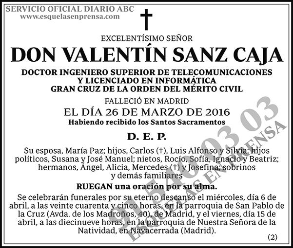 Valentín Sanz Caja